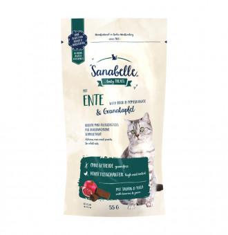 Sanabelle-Snack_mitEnte&Granatapfel_55g_1000px_rgb